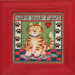 MH143104 Mill Hill Buttons and Bead Kit Kitty Paws (2013)
