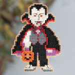 MH183204 Mill Hill Seasonal Ornament Kit Dracula (2013)