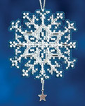 MH162302 Mill Hill Charmed Ornament Kit Star Crystal (2012)