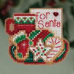 MH183302 Mill Hill Seasonal Ornament Kit For Santa (2013)