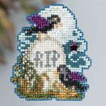 MH183203 Mill Hill Seasonal Ornament Kit Tombstone (2013)