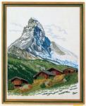 """7712913 Eva Rosenstand Kit Matterhorn 16"""" x 20""""; Linen; 25ct"""