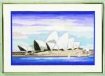 "7714234 Eva Rosenstand Kit Sydney Operahouse 14"" x 20""; Linen; 26ct"