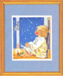 "7714059 Eva Rosenstand Kit Wish Upon A Star 11"" x 14""; Linen; 25ct"