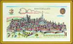 "7714051 Eva Rosenstand Kit Bruielles 18"" x 30""; Linen; 26ct"