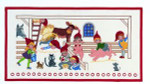 "7715256 Eva Rosenstand Kit Advent Calendar Pixies 7715256 12"" x 28""; Aida; 14ct"