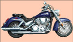 07-2087 Japanese Bird Of Prey (Honda Eagle 1300) by Brenda Franklin Designs