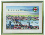 "7712353 Eva Rosenstand Kit London 16"" x 20""; Linen; 26ct"
