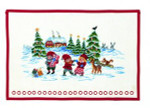"7715259 Eva Rosenstand Kit Advent Calendar Pixies 16"" x 20""; Linen; 26ct"