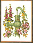 "7714135 Eva Rosenstand Kit Thirsty Orioles 18"" x 24""; Linen; 20ct"