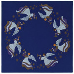 "77124565 Eva Rosenstand Kit Angels Tablecloth 64"" x 64""; Aida; 11ct"