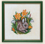 "7712889 Eva Rosenstand Kit Young Hare  8"" x 8""; Linen; 26ct"