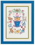 "7712683 Eva Rosenstand Kit Cradle & Toy 12"" x 16""; Linen; 26ct"
