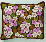 "77010444 Eva Rosenstand Kit Apple Blossoms Pillow 16"" x 18"" ; Canvas; 11ct"
