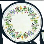 "77051740 Eva Rosenstand Kit Birdweed Wreath 17"" round; Linen; 30ct"