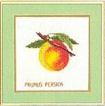 "7712959 Eva Rosenstand Kit Fruit-Peaches 8"" x 8""; Linen; 25ct"
