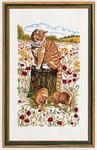 "7714181 Eva Rosenstand Kit Cats 12"" x 20""; Linen; 25ct"
