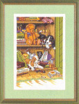 "7714053 Eva Rosenstand Kit Cupboard of Pets & Toys 12"" x 16""; Linen; 25ct"