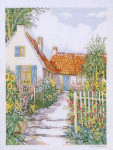 "7714470 Eva Rosenstand Kit Cottage 16"" x 20""; Linen; 26ct"