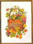 "77084177 Eva Rosenstand Kit Fruit Basket 18"" x 24""; Linen; 25ct"