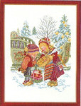 "7714211 Eva Rosenstand Kit Children With Goodies 12"" x 16""; Linen; 25ct"