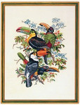 "7714213 Eva Rosenstand Kit Toucan 20"" x 27""; Linen; 20ct"