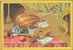 "7714159 Eva Rosenstand Kit Musical Instruments 18"" x 24""; Linen; 8ct"