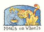 "HCK984 Heritage Crafts Kit Meals on Wheels Cat by Peter Underhill - Cats-Rule! 6.4"" x 4.4""; Evenweave; 28ct"