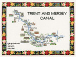 """HCK949 Heritage Crafts Kit Trent & Mersey Canal John Clayton 16.4"""" x 11.6"""" ; Evenweave; 27ct"""