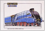 "HCK125 Heritage Crafts Kit Mallard - Trains by Dave Shaw 7.75"" x 11.75""; Evenweave; 28ct"