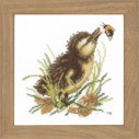 "PN146977 Lanarte Kit Duckling and Bumblebee 5"" x 5""; Aida; 18ct"