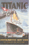 "HCK368 Heritage Crafts Kit Titanic by John Clayton 8"" x 11-1/2""; Evenweave; 28ct"