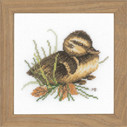 "PN146976 Lanarte Kit Duckling at Rest 5"" x 5""; Aida; 18ct"
