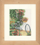 "PN147006 Lanarte Kit My Bicycle 7"" x 9"" ; Evenweave; 27ct"