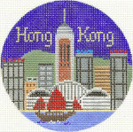 603 Hong Kong Ornament	4.25 RD.	18 Mesh Silver Needle Designs