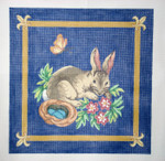 131 Bunny 16 x 16 13 Count\ Silver Needle Designs