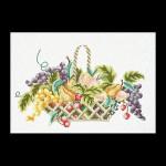 """GOK1091 Thea Gouverneur Kit Fruit Basket 11"""" x 16""""; Linen; 25ct"""