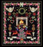 "GOK2077B Thea Gouverneur Kit Christmas Sampler 24"" x 26-1/2""; Aida; 18ct"
