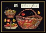 "GOK2099B Thea Gouverneur Kit Fruit Baskets 16"" x 11-1/2"" ; Aida; 18ct"