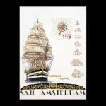 """GOK2080 Thea Gouverneur Kit Sail '95 25"""" x 31""""; Jobelan; 28ct"""