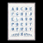 "GOK1089 Thea Gouverneur Kit ABC's 16"" x 22""; Jobelan; 25ct"