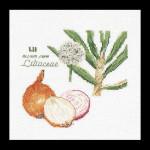 """GOK3042 Thea Gouverneur Kit Onion 6"""" x 6""""; Linen; 36ct"""