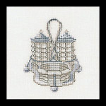 "GOK3009 Thea Gouverneur Kit Salt & Pepper 08 5"" x 5"" Linen 36ct"
