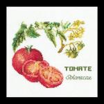 """GOK3040 Thea Gouverneur Kit Tomato 6"""" x 6""""; Linen; 36ct"""