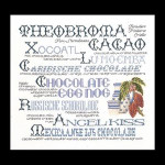 "GOK3013 Thea Gouverneur Kit Chocolate Sampler 16"" x 15""; Linen; 36ct"