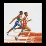"GOK3058 Runners  Thea Gouverneur Kit Runners 6"" x 7""; Linen; 36ct"