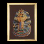 """GOK949 Thea Gouverneur Kit Tutankhamen 24"""" x 32"""" Jobelan 20ct"""