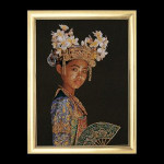 "GOK948 Thea Gouverneur Kit Indonesia Dancer 24"" x 32""; Jobelan; 20ct"