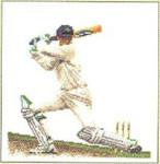 "GOK3033 Thea Gouverneur Kit Baseball 6"" x 6-1/2""; Linen; 36ct"