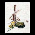 "GOK1037 Thea Gouverneur Kit Frog 3"" x 4""; Linen; 32ct"